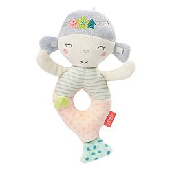 Soft ring rattle mermaid