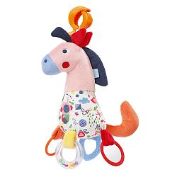 Activity horse with clamp