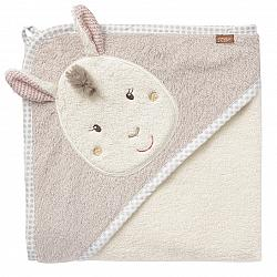 Bild Hooded bath towel llama