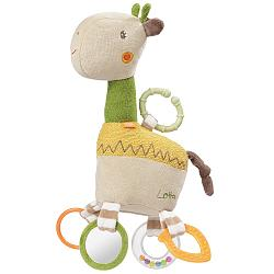 Activity giraffe with ring