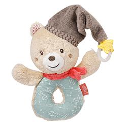 Soft ring rattle bear