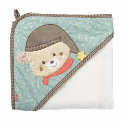 Bild Hooded bath towel bear