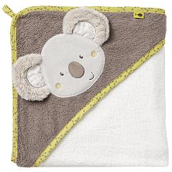 Hooded bath towel koala