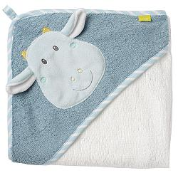 Hooded bath towel dragon