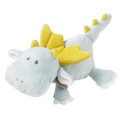 Heatable soft toy dragon