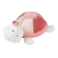 Heatable soft toy turtle
