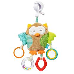 Activity owl with clamp