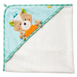 Hooded bath towel fox