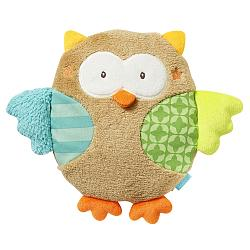 Cherry stone cushion owl