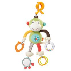 Activity monkey with clamp