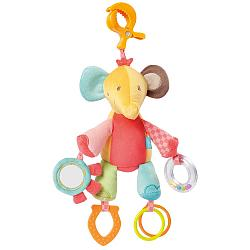 Activity elephant with clamp