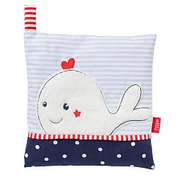 Cherry stone cushion whale