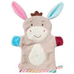 Washing mitt donkey