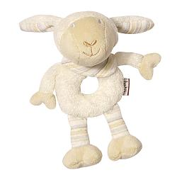 Bild Soft ring rattle sheep