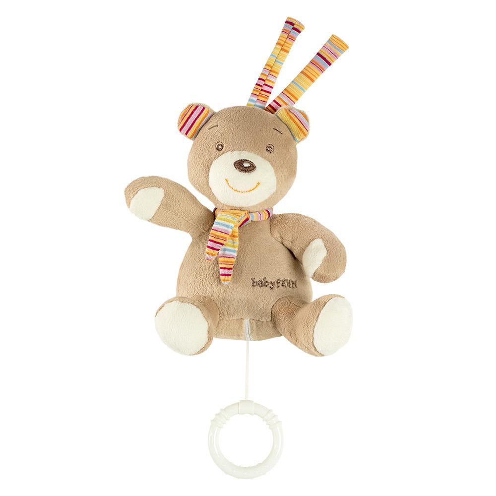Fehn Rainbow Spieluhr Teddy auf Mond