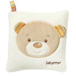 Cherry stone cushion teddy