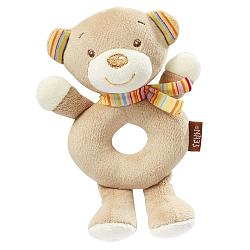 Bild Soft ring rattle teddy
