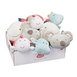 Bild Display with 8 heatable soft toys